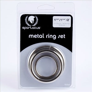 Spartacus Metal Ring Set