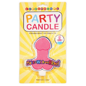 Party Candle Make A Wish And Blow! Penis