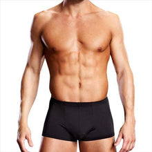Load image into Gallery viewer, Blueline Men's Microfibre Trunk Black Size S / M