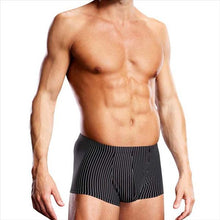 Load image into Gallery viewer, Blueline Men's Microfibre Trunk Stripe L / X L