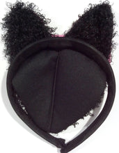 Load image into Gallery viewer, Sophisticat Headband Cat Ears With Fur