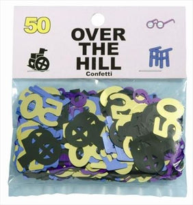 Over The Hill Confetti - 50