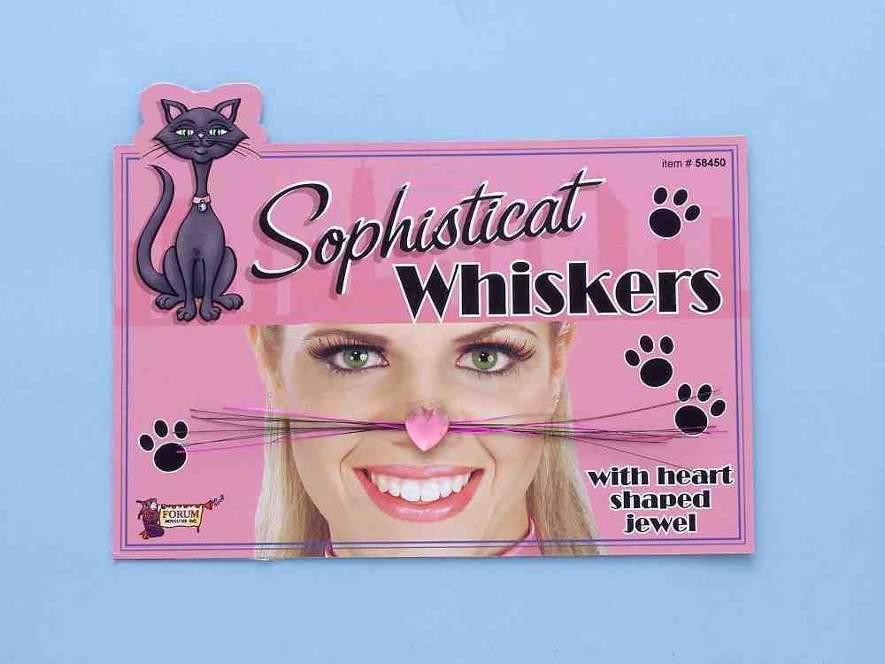Sophisticate Cat Whiskers
