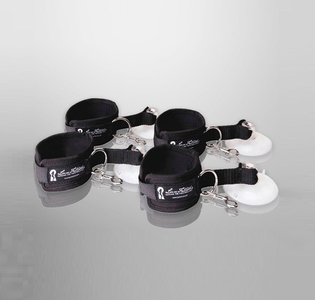 4pc Suction Cuffs Set
