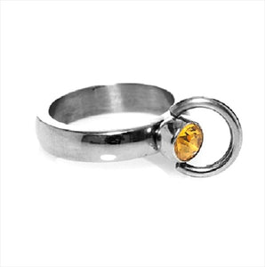 Gemstone-o-ring 15mm