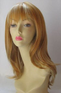 Long Strawberry Blonde Wig