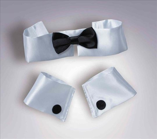 Stripper Set: Male Cuffs & Tie