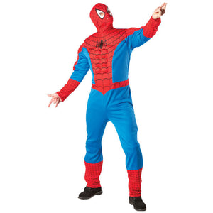Spiderman Eva Muscle Chest With Hood - Size Std