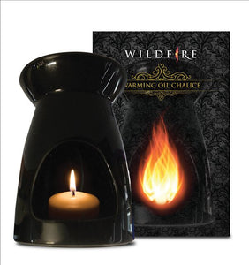 Wildfire Warming Oil Chalice Black