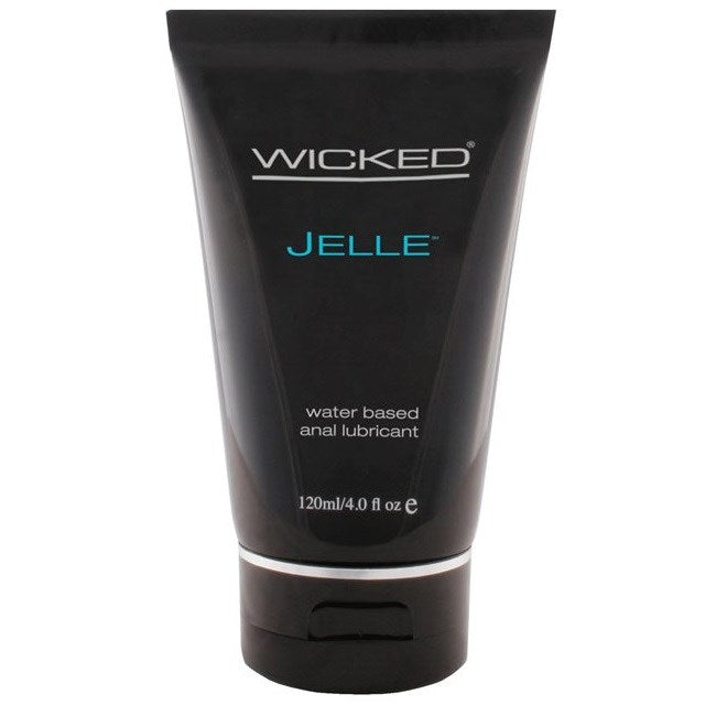 Wicked Jelle Anal Gel Unscented Lubricant 120 M L