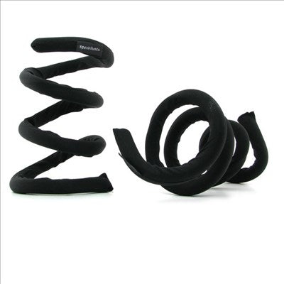 S & M Flexible Coil Restraints Black