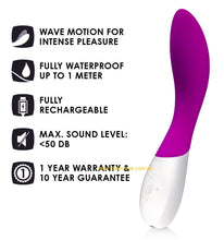 Load image into Gallery viewer, Lelo Mona Wave Deep Rose