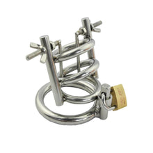 Load image into Gallery viewer, Stainless Steel Penis Stretcher & Male Chastity Device