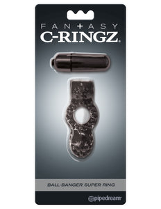 Fantasy C-ringz Ball Banger Super Ring Black