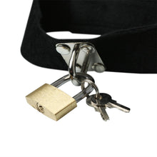 Load image into Gallery viewer, S & M Lock & Key Collar