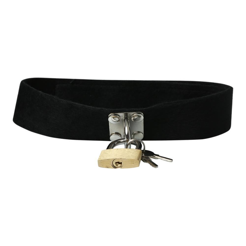 S & M Lock & Key Collar