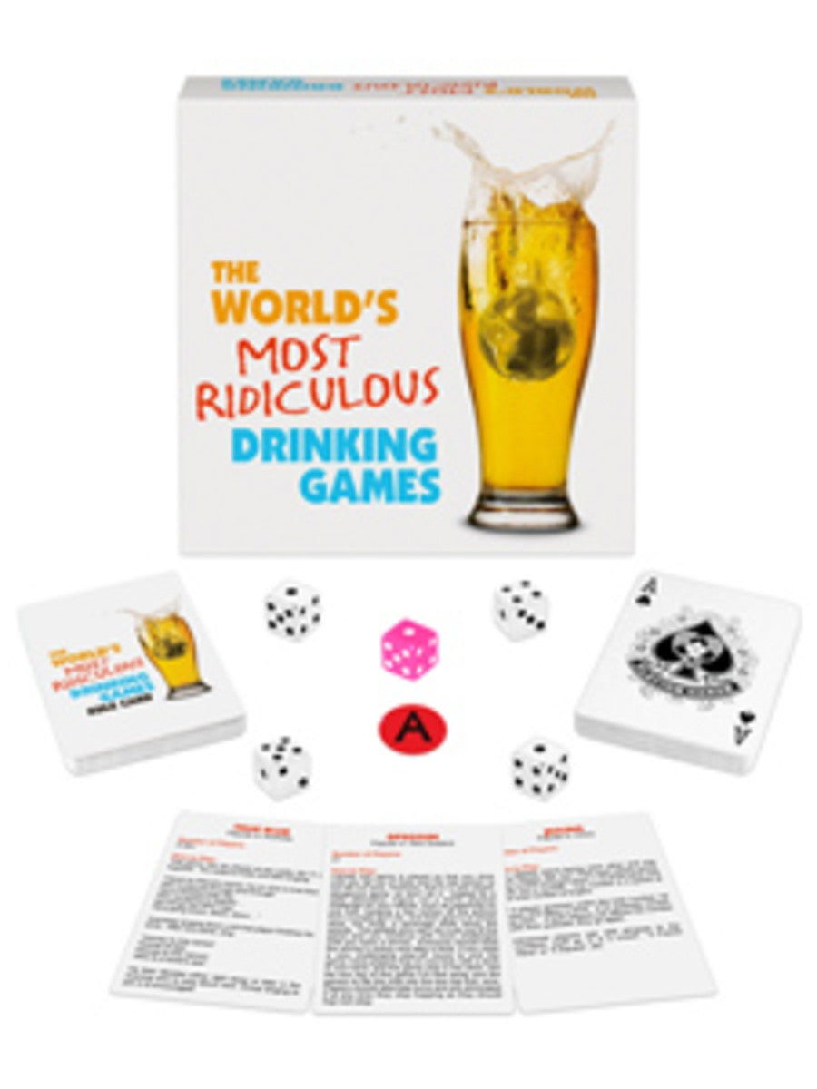 Worlds Most Ridiculous Drinking Games