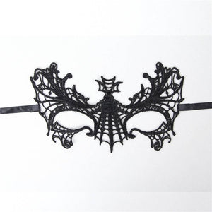 Black Butterfly Lace Eye Mask
