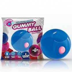 Rock Candy Gummy Ball Blue