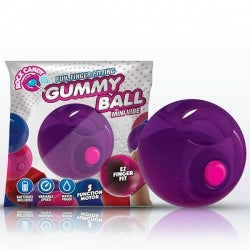 Rock Candy Gummy Ball Purple