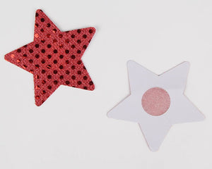 Nipple Cover Star Red Pretty