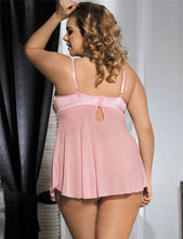 Load image into Gallery viewer, Dynamic Babydoll Pink (16-18) 3xl