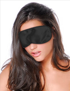 F F Satin Love Mask Black