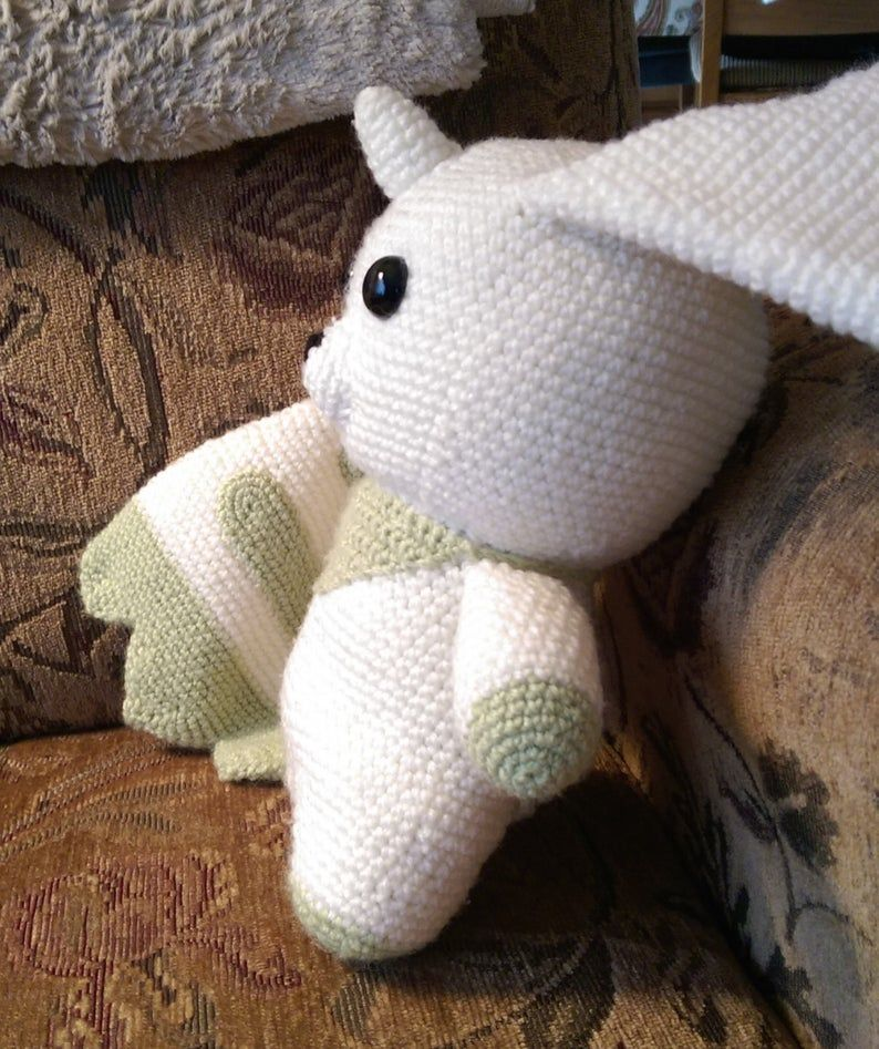 Terriermon Needlework – Pokemon Inspired Crochet, Amigurumi Style