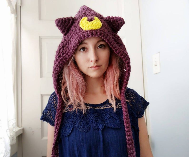 Sailor Moon Hat Needlework – Amigurumi Style