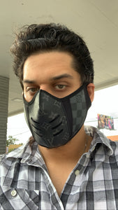Black LV Louis Vuitton Luxury High End Facemask