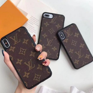 Brown LV Louis Vuitton Luxury High End Apple iPhone Case