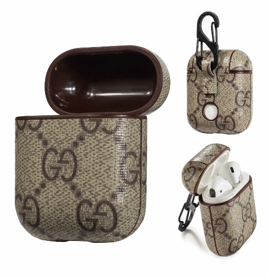 GG Gucci Luxury High End Airpods Case