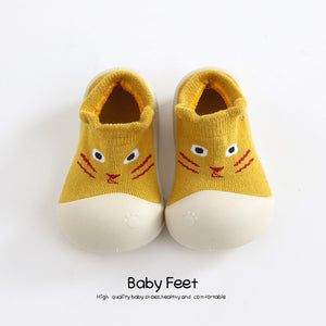 Baby sock Shoes Anti-slip Spring Cartoon animal Shoes Baby Girl baby boy Soft Rubber Sole shoes