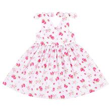 Load image into Gallery viewer, Flofallzique Toddler Girl Dresses Baby Summer Cute Strawberry V-neck Comfortable Cotton Kid Clothes