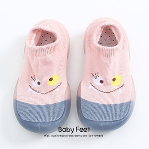 Baby Socks With Rubber Soles Cartoon baby shoes Infant Sock