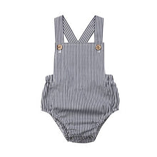 Load image into Gallery viewer, Cute Newborn Kids Bodysuit Baby Boy Girl Clothes Babygrow Jumpsuit  Sunsuit Outfits Soild Children's Clothes Summer 2019