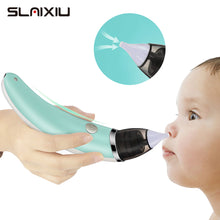 Load image into Gallery viewer, Kid Baby Nasal Aspirator Electric Nose Cleaner Newborn Baby care Sucker Cleaner Sniffling Equipment Safe Hygienic Nose Aspirator