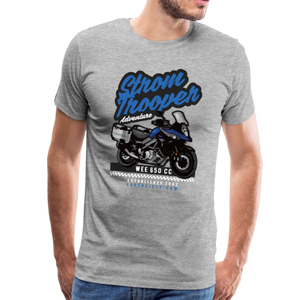 V-Strom Strom Trooper T-Shirt - heather gray
