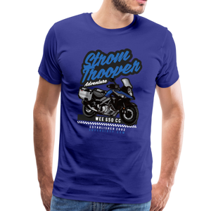 V-Strom Strom Trooper T-Shirt - royal blue