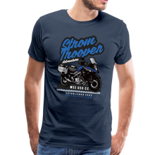 Load image into Gallery viewer, V-Strom Strom Trooper T-Shirt - navy