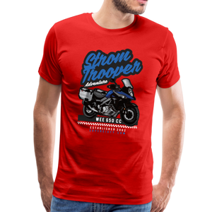 V-Strom Strom Trooper T-Shirt - red