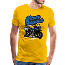 Load image into Gallery viewer, V-Strom Strom Trooper T-Shirt - sun yellow