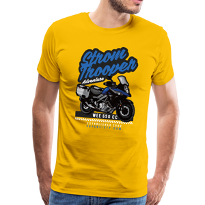 V-Strom Strom Trooper T-Shirt - sun yellow