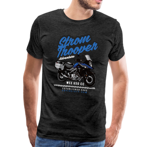 V-Strom Strom Trooper T-Shirt - charcoal gray