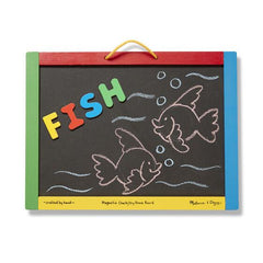 145 Magnetic Chalkboard and Dry-Erase Board