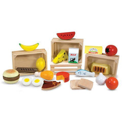 271 Food Groups - Wooden Play Food 3+