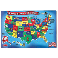 440 U.S.A. (United States) Map Floor Puzzle - 51 Pieces 6+