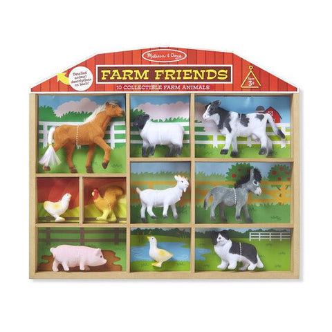 594 Farm Friends - 10 Collectible Farm Animals 3+