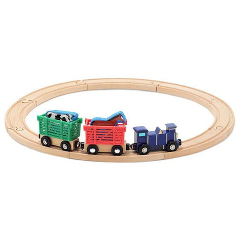 644 Farm Animal Train Set 3+