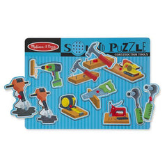 733 Construction Tools Sound Puzzle 2+